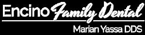 encino family dental footer logo